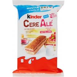 Kinder CereAlé con Yogurt e Confettura di Lamponi 10 x 28,5 gr.