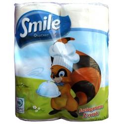 Smile asciugatutto 2 rot. lucart