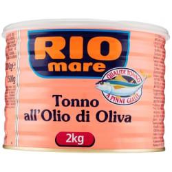 Rio mare tonno olio oliva - kg.2