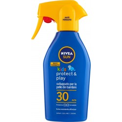 Nivea Sun kids protect & play Spray Solare FP 30 Alta 300 ml.