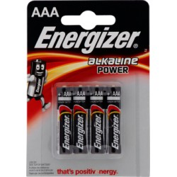 Energizer power ministilo aaa x4 e92