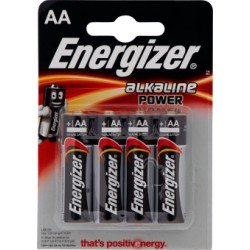 Energizer power stilo aa x4 e91