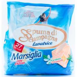Spuma di Sciampagna lavatrice marsiglia 27 misurini - kg.1,8