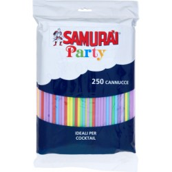 Samurai cannucce long drink x250