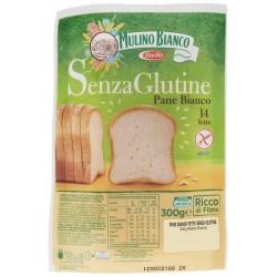 Mulino Bianco Senza Glutine Pane Bianco 14 fette 300 gr.