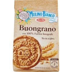 Mulino Bianco Buongrano biscotti con 100% Farina Integrale 350 gr.