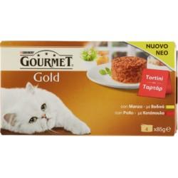 Gourmet gold tortini manzo pollo - gr.85x4