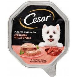 Cesar vaschetta patè vitello e pollo - gr.150