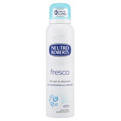 Roberts deo spray fresco - ml.125