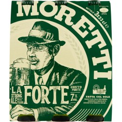 Moretti birra doppio malto cl.33 x3