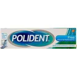 Polident free crema adesiva ipoallergenica ml.40