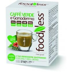 Foodness caffe' verde/ganoderma bust x10