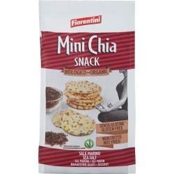 Fiorentini Mini Chia Snack Biologico Sale Marino 50 gr.