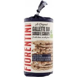 Fiorentini bio gallette sorg e canapa gr.120