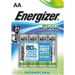 Energizer ecoadvanced pile stilo e91 pezzi 4