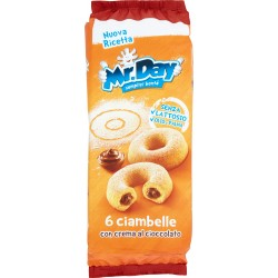 Mr.Day ciambelle con crema al cioccolato 6 x 48 gr.