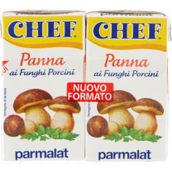 Panna Chef ai funghi porcini ml.125x2