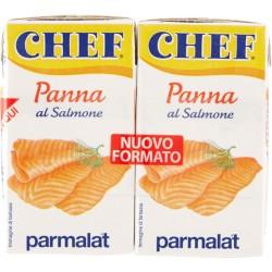 Panna al salmone Chef  ml.125x2