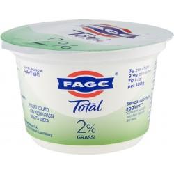 Fage yogurt greco bianco Total 2% Grassi 170 gr.