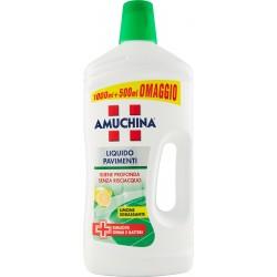 Amuchina Liquido Pavimenti Limone 1000 ml + 500 ml.