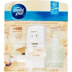 Ambi Pur Vaniglia - Deodorante per Ambienti con Diffusore Elettrico + Ricarica 21,5 ml.