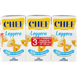 Panna Chef leggera ml.125x3