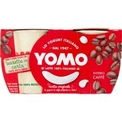 Yomo 100% Naturale caffè 2 x 125 gr.