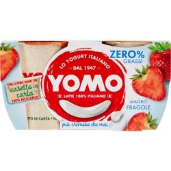 Yomo 100% Naturale zero grassi fragole 2 x 125 gr.