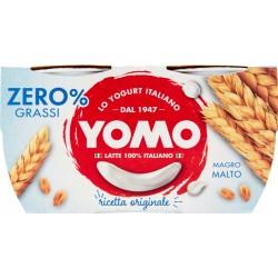 Yomo 100% Naturale zero grassi malto 2 x 125 gr.