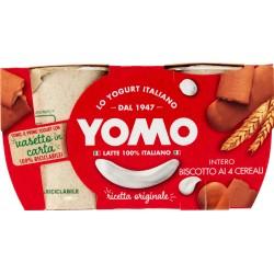 Yomo 100% Naturale biscotto ai 4 cereali 2 x 125 gr.