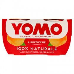 Yomo 100% Naturale albicocche 2 x 125 gr.