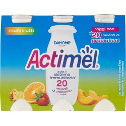 Actimel multifrutti 6 x 100 gr.
