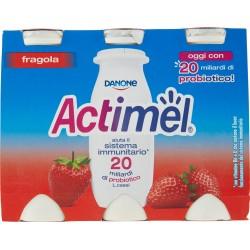 Actimel fragola 6 x 100 gr.