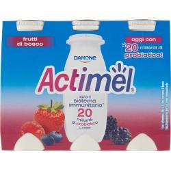 Danone actimel frutti-bosco x 6 gr.600
