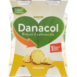 Danone Danacol Ananas 4 x 100 gr.