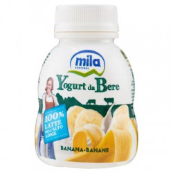 Mila yogurt da bere banana ml200