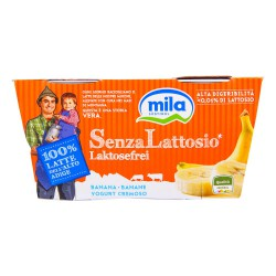 Mila yogurt s/l banana x 2