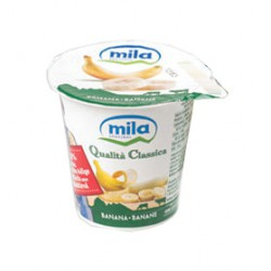 Mila yogurt banana gr125