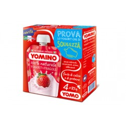 Yomo yogurt yomino x 4 fragola