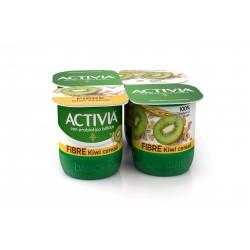 Danone activia fibre/kiwi x 4 gr.500