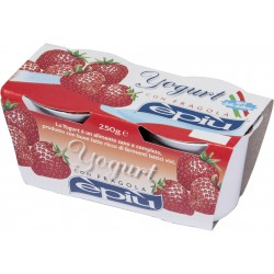 E'piu' yogurt fragola x 2