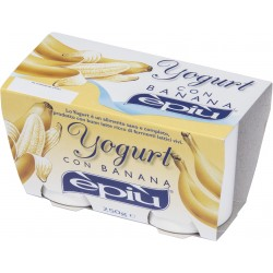 E'piu' yogurt banana x 2