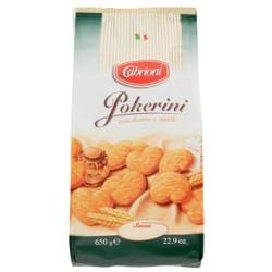 Cabrioni biscotti pokerini - gr.650