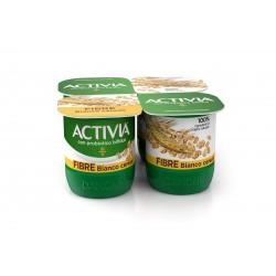 Danone activia fibre/cereali x 4 gr.500