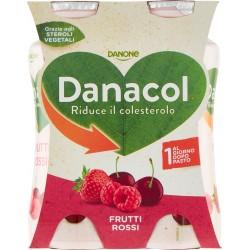 Danone Danacol Frutti Rossi 4 x 100 gr.