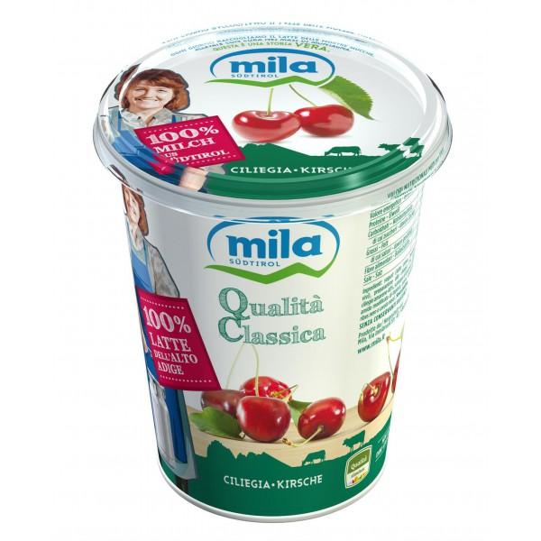 Mila yogurt ciliegie  gr.400