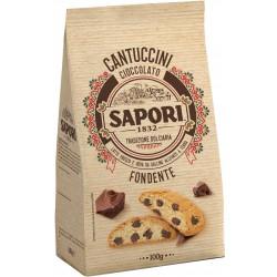 Sapori cantuccini con gocce di cioccolato gr.100