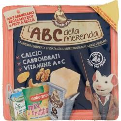 Parmareggio l'ABC della merenda con Parmigiano Reggiano DOP e Frutta Secca