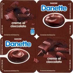 Danette Danone crema al cioccolato 4 x 125 gr.