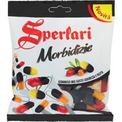 Sperlari Morbidizie Gommoso Mix Gusto Liquirizia e Frutta 160 gr.
